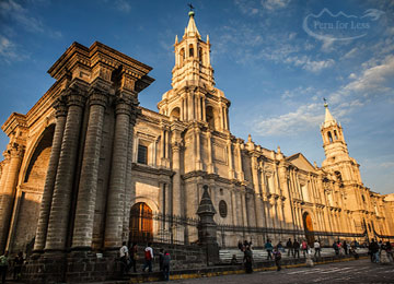 Arrival in Arequipa & Arequipa City Tour