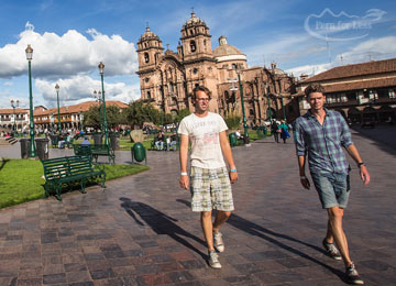 Arrival in Cusco