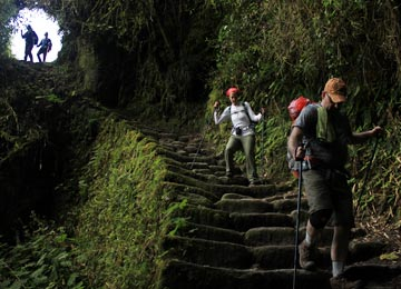 Begin the Inca Trail Trek to Machu Picchu