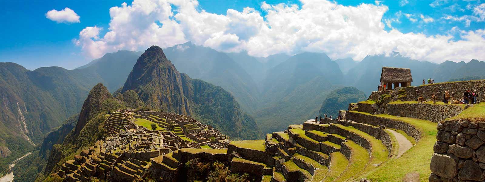 Machu Picchu amazing landscape