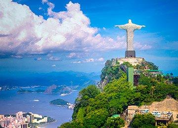 Arrival in Rio de Janeiro